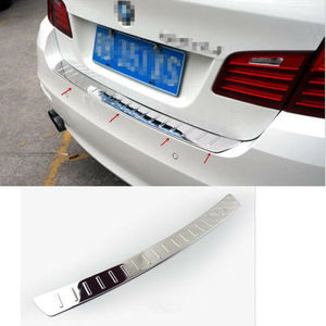 for BMW 5 Series F10 2011 - 2015 Steel Rear Bumper Protector Plate Molding Trim