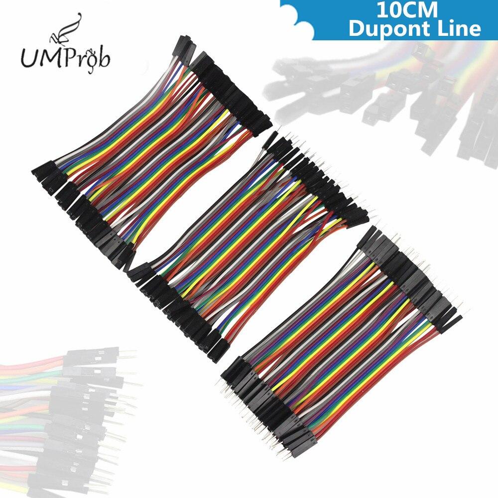 10 см Dupont линия штекер-штекер + штекер-г�