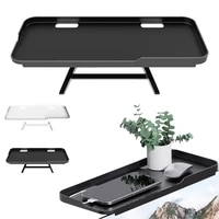 tv top shelf mounting 2 legs adjustable screen top storage bracket for routers remote controls home decor