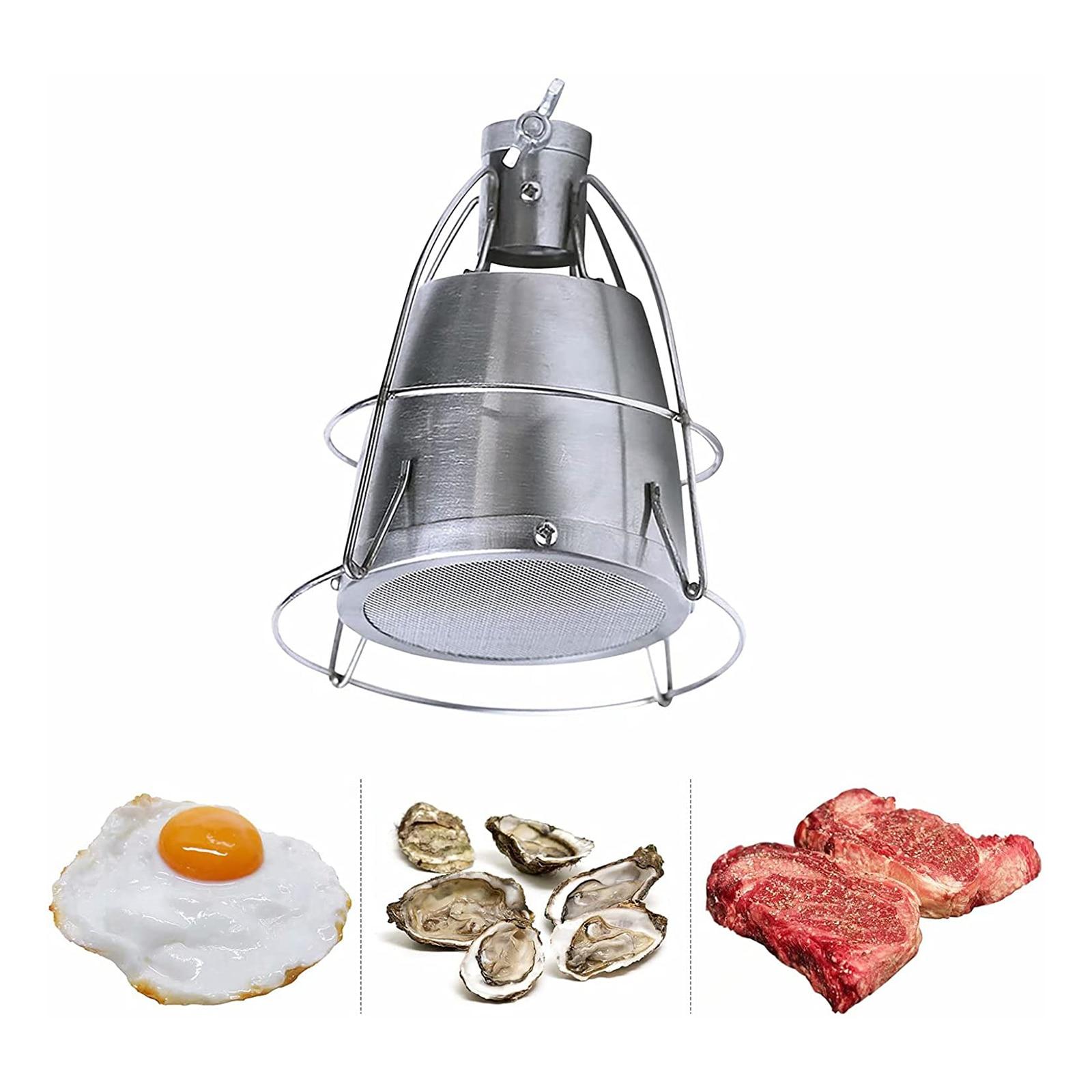 Стальная гофонарь лка для выпечки, приспособление для приготовления пищи, для ресторанов, барбекю, гриля, шеф-повара, нагревательный плавил...
