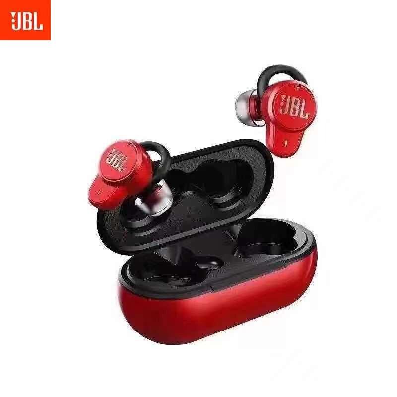 JBL T280TWS Pro سماعات بلوتوث سماعات أذن استريو باس صوت سماعة أذن مزوّدة بخاصية عزل الضوضاء مع حافظة شحن مايك