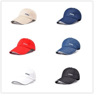 Extended Brim Baseball Cap Spring And Summer Men'S Outdoor Sports Caps Ladies Leisure Travel Sun Hats