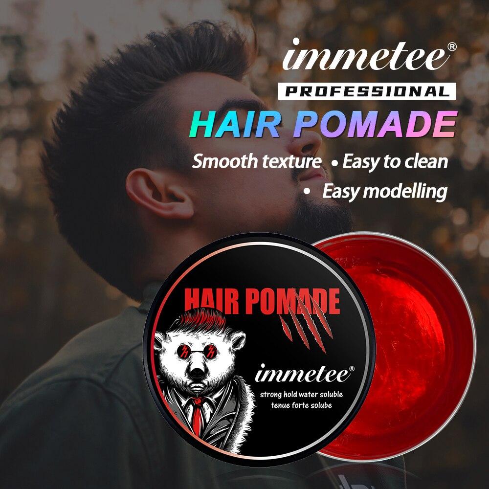 AliExpress - Hair Transparent Wax Pomade Styling Gel Wax For Men Gel Water Based Deluxe Matte keep hair slicked oil mud restoring Pomade