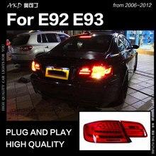 BMW E92 2006-2012 E93 325i 330i   Style de voiture, feu arrière, Coupe DRL Signal, frein arrière, accessoires auto