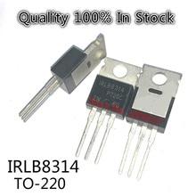 10PCS/LOT   IRLB8314PBF TO-220 IRLB8314 TO220 MOSFET N-CH 30V 120A  In Stock