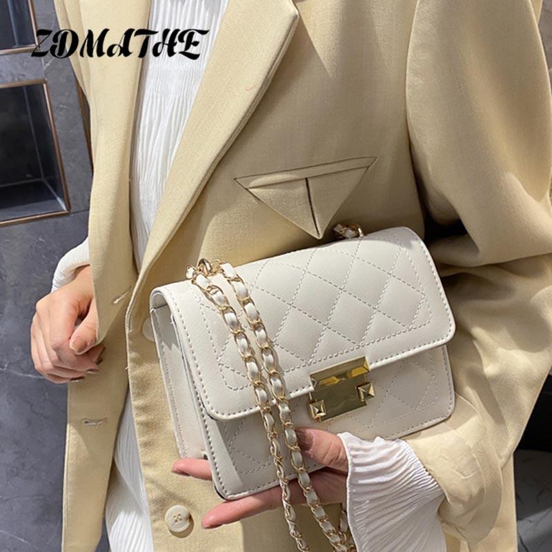 Women Crossbody Rhombus Chain Bags