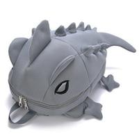 Cartoon 3D Chameleon School Backpack Kids Dinosaur Backpacks for Children animal Students bags Personality Girls Boys School Bag
