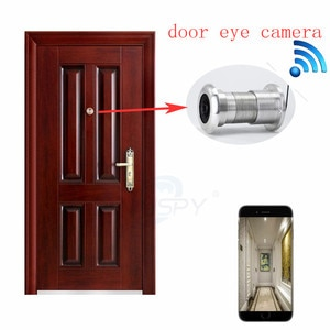 Hotel Household 1080P Night Vision 180Degree Peephole Wifi Wireless Door Viewer Camera Motion Detection Record Phone Remote View