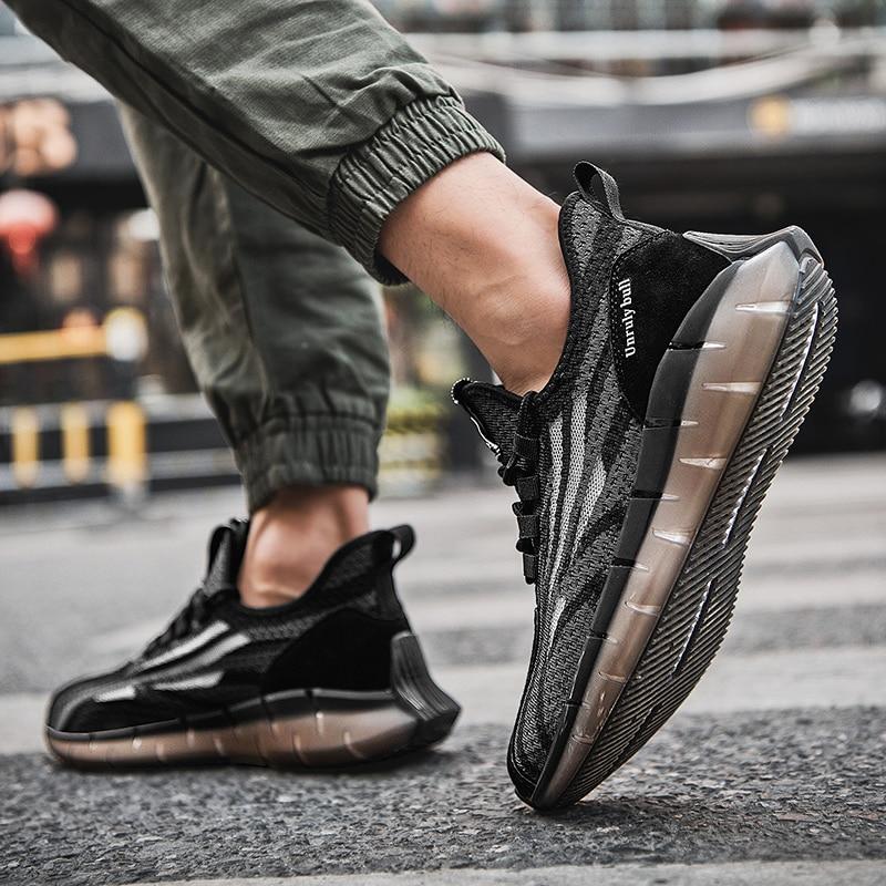 أحذية رجالية شبكية قابلة للتنفس من Zapatillas infales Hombre أحذية رياضية صيفية للرجال أحذية ركض للخريف