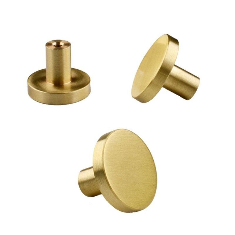 Gaveta de bronze redonda puxa alças cômoda armário maçaneta da porta casa ferragem cozinha 449c