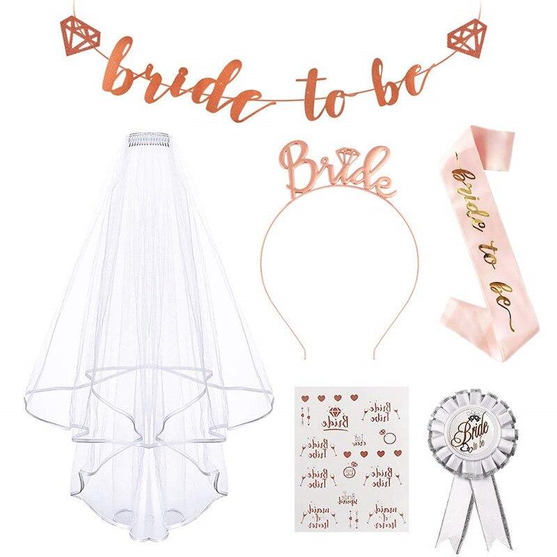 6-16-шт-компл-новая-свадебная-брошь-для-невесты-ремень-для-фаты-повязка-для-волос-легкая-в-ношении-Фата-практичная-для-свадебного-флага-студ