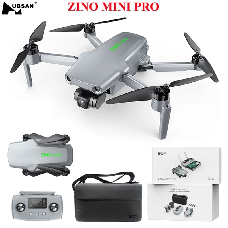 Hubsan ZINO Mini PRO 249g نظام تحديد المواقع 5G واي فاي 10 كجم FPV مع 4K 30fps كاميرا 3-Axis Gimbal تجنب عقبة الاستشعار 40 دقيقة وقت الطيران