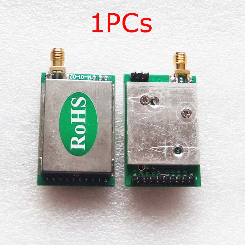 1PCS TX6733 2.4GHz 1W Wireless Audio and Video Transmitter Module 4-5.5V Launcher Radio Systems Spar
