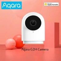 Xiaomi Aqara     camera AI intelligente G2h  1080P Hd  passerelle G2h  surveillance mobile  pour application Homekit