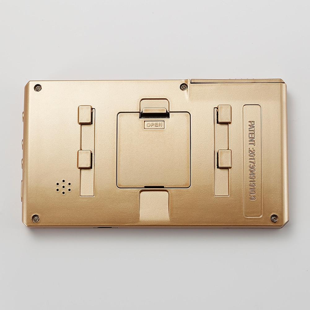 4.3 inch Digital Door Eye Camera Audio Video Recording Wide Angle Video Photo Peephole Night Vision PIR Motion Doorbell enlarge