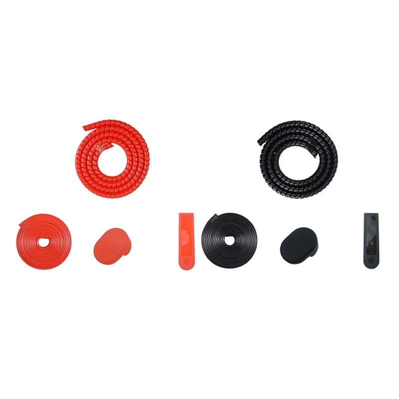 Electric Scooter Protection Set Control Protection Fender Hook Line Tube Anti-Collision Strip For XIAOMI M365