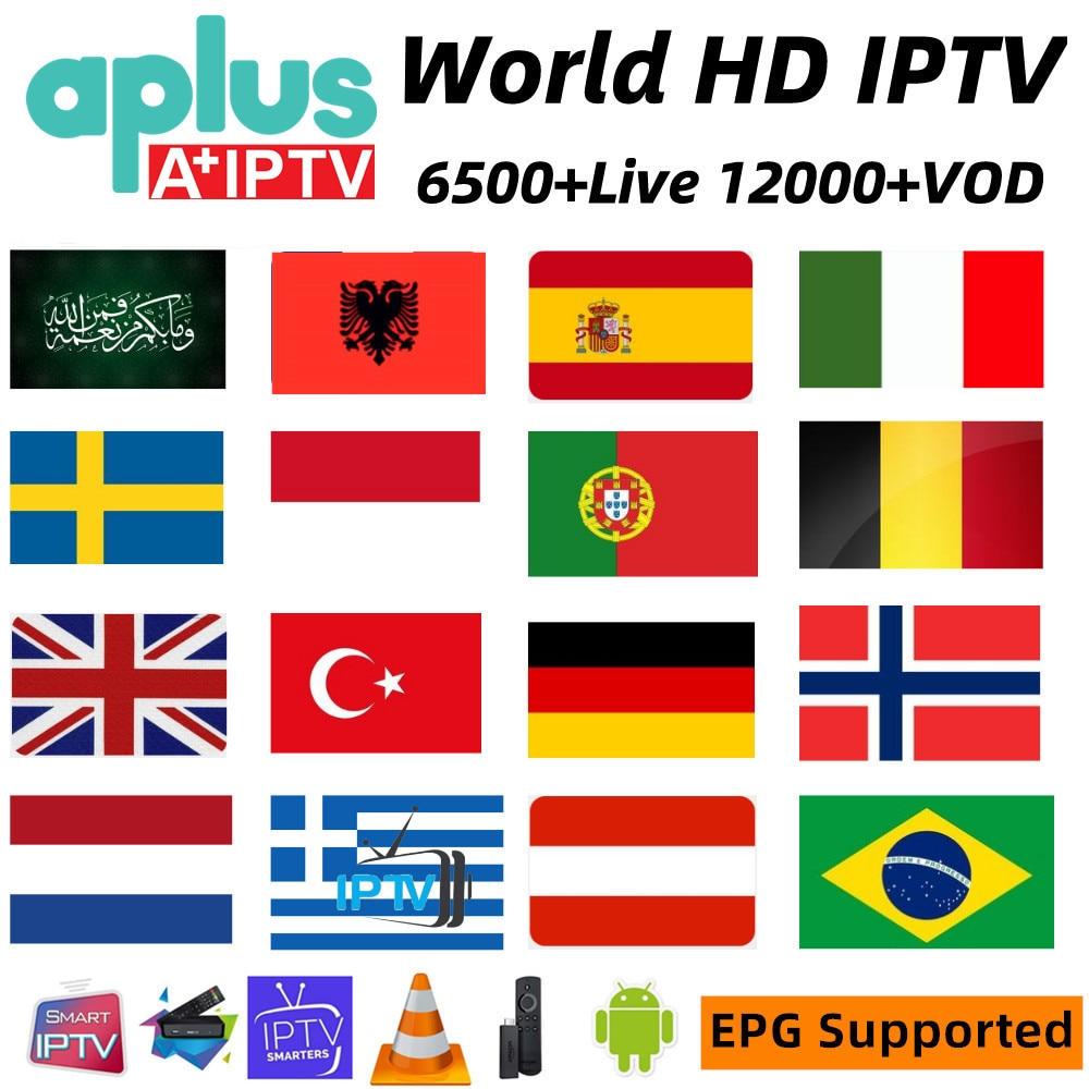 HD mundo IPTV 4K - HK1 MAX Dispositivo de TV inteligente Android 9,0 2GB 16GB RK3318 2,4G/5G Wifi BT 4,0 RK Quad Core 4K