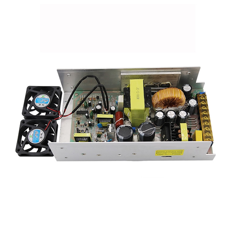 12V 60A 720W Power Supply AC 110v 220V to DC LED Driver Lighting Transformer Adapter For LED Strip Light Monitoring Equipment enlarge