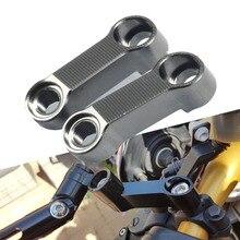 For Yamaha MT07 MT09 MT10 MT03 MT01 MT125 XT660 XT1200 XT 1200 CNC10MM Motorcycle Rearview Mirror Extension Mount Bracket Holder