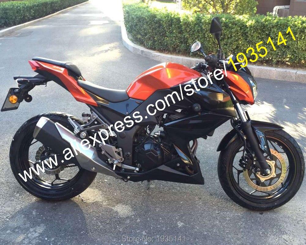 Kawasaki Z300 Z250 2015 2016   Pour 15 16, Orange or noir, carrosserie, faitout de rechange (moulage par Injection)
