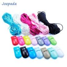 Joepada-collier de dentition en Silicone   Perles, accessoires bébé, anneau de dentition, hochet, 1.5mm, cordon en Polyester, bricolage pour bijoux, breloques pendentifs