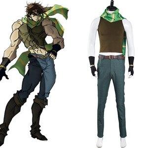 JoJo's Bizarre Adventure Cosplay Battle Tendency Joseph Joestar Cosplay Costume Outfits Uniform Halloween Carnival Suit