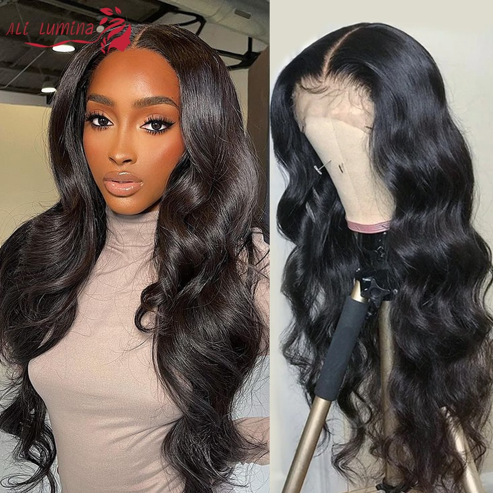 Body Wave Lace Front Wig 13x5x2 T Part Lace Front Human Hair Wigs Brazilian Hair Wigs Pre-plucked Natural Hairline Closure Wig