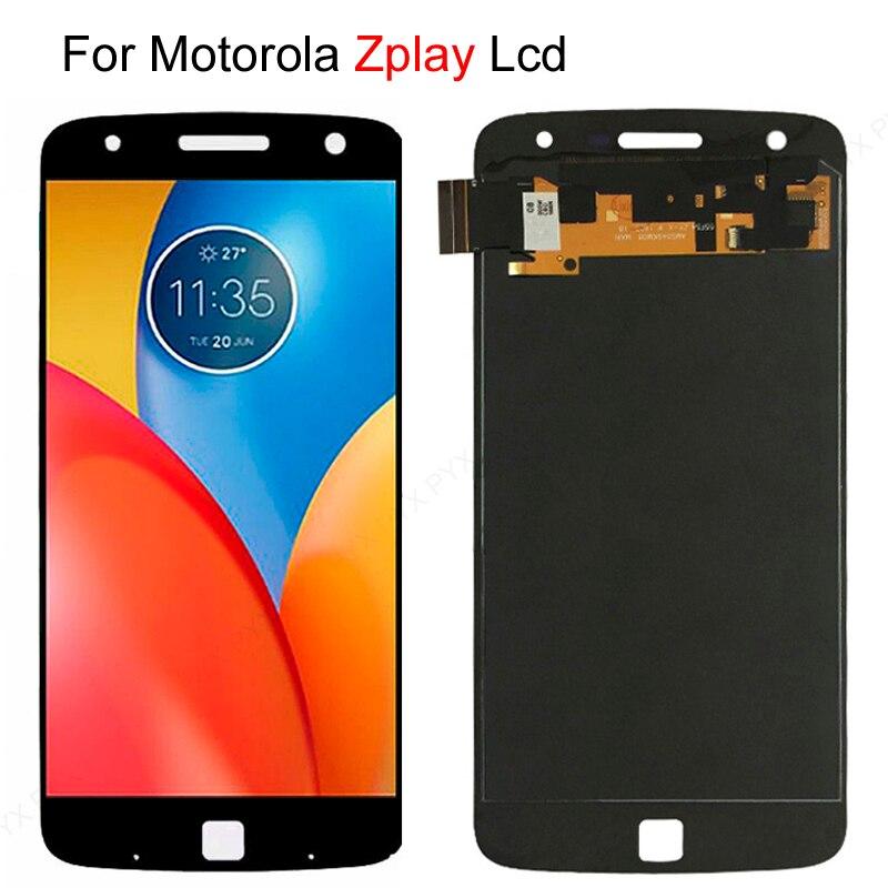 "5,5 ""для Motorola Moto Z Play LCD дисплей сенсорный экран дигитайзер для Moto Z2 Play LCD XT1635 XT1635-01 XT1710 экран"