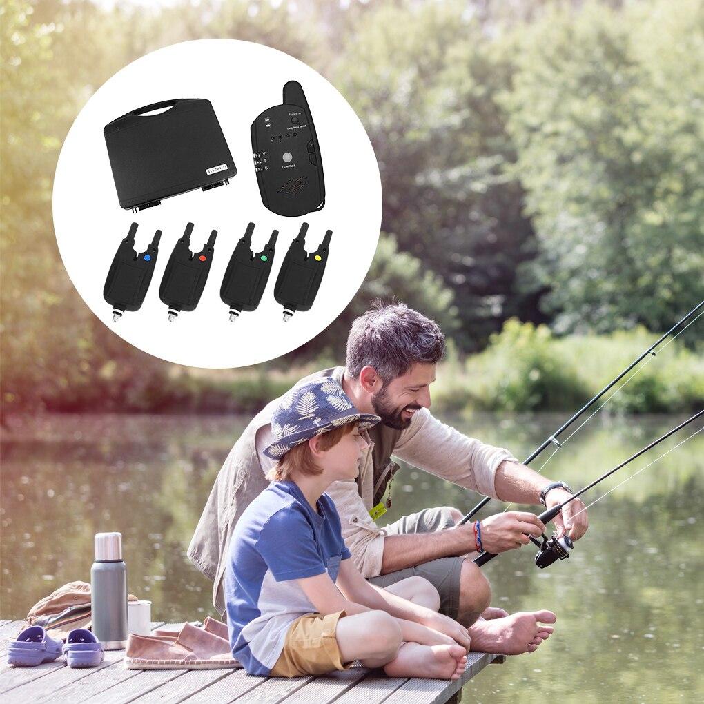 2021 NEW Fishing Bite Alarm Transmitter Wireless Electric Fishing Bite Receiver Portable Bait Alarm Transmitter enlarge
