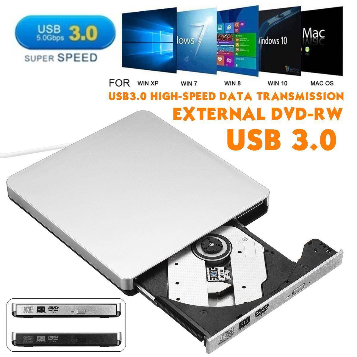 مشغل أقراص DVD/CD RW خارجي بسعة 2 ميجابايت ، وكاتب أقراص مضغوطة ، ومحرك أقراص كربون رفيع ، ومحرك أقراص ضوئية للكمبيوتر الشخصي والكمبيوتر المحمول