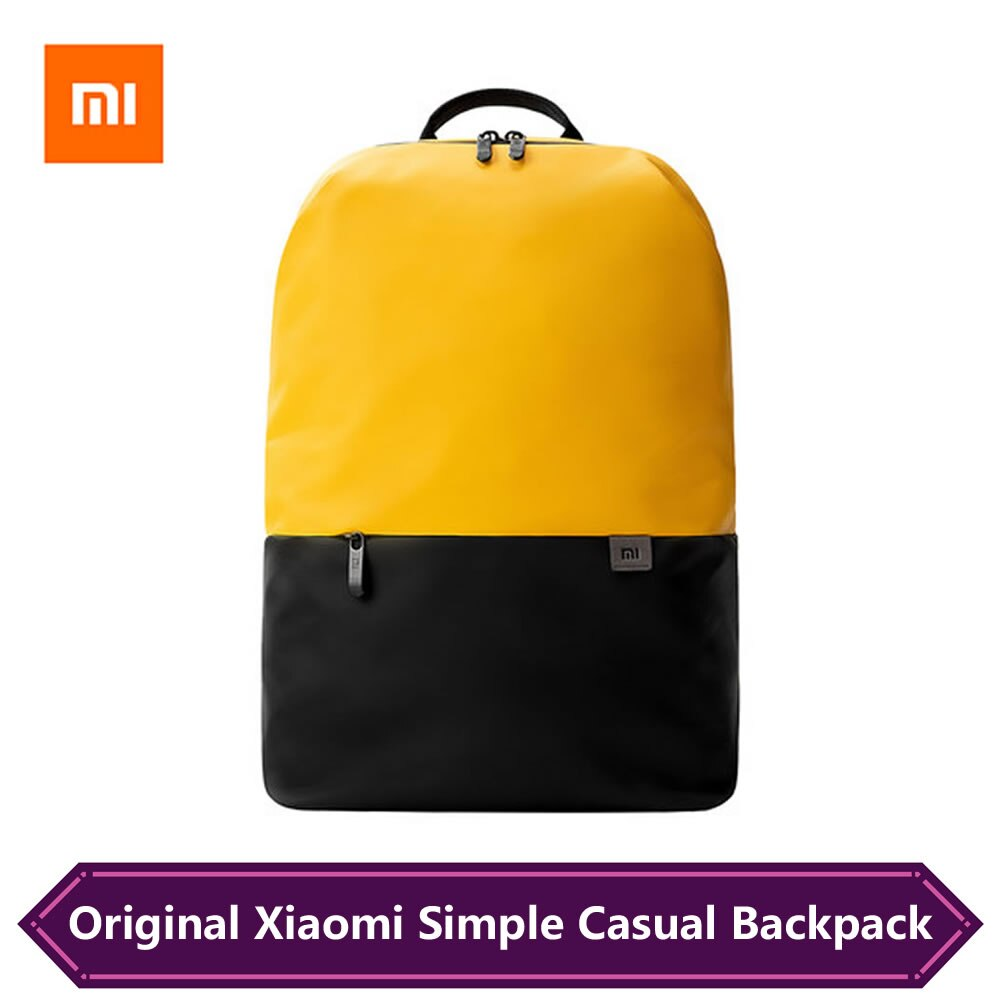 Original Mi Backpack Xiaomi Simple Casual 15.6 inch Laptop Backpacks Lightweight Waterproof Travel K
