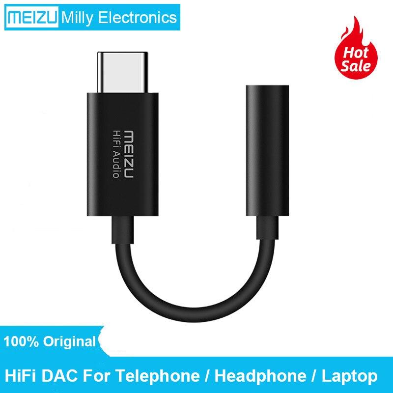Оригинал MEIZU HiFi аудио DAC 3,5 мм телефон type-C USB адаптер кабель усилитель для наушников CS43131 чип 600ou PCM 32bit/384k DSD 128