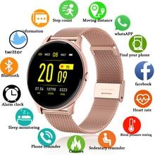 LIGE 2020 Fashion Smart Watch Ladies Heart Rate Blood Pressure Multifunctional Sport Watch Men Woman