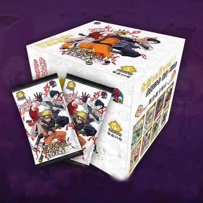 100PCS BORUTO NARUTO Shippuden Hinata Sasuke Itachi Kakashi Gaara Toys Hobbies Hobby Collectibles Game Collection Anime Cards