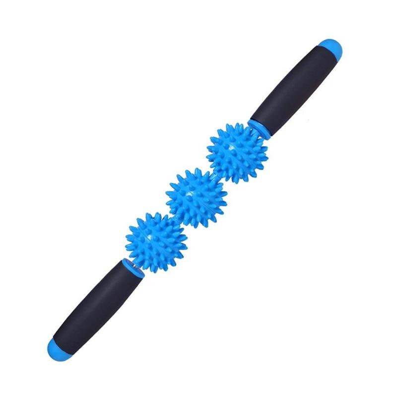 Rodillo para músculos, el mejor palo rodillo de masaje deportivo para músculos doloridos, liberando calambres, miofascial, dolor de puntos gatillo, piernas