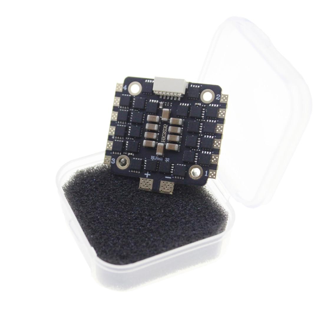 HAKRC Mini 35A BLHeli 32 Bit 2-6S DSHOT1200 4 в 1 бесщеточный ESC для радиоуправляемого дрона FPV гоночный Квадрокоптер 3D запасные части DIY аксессуар