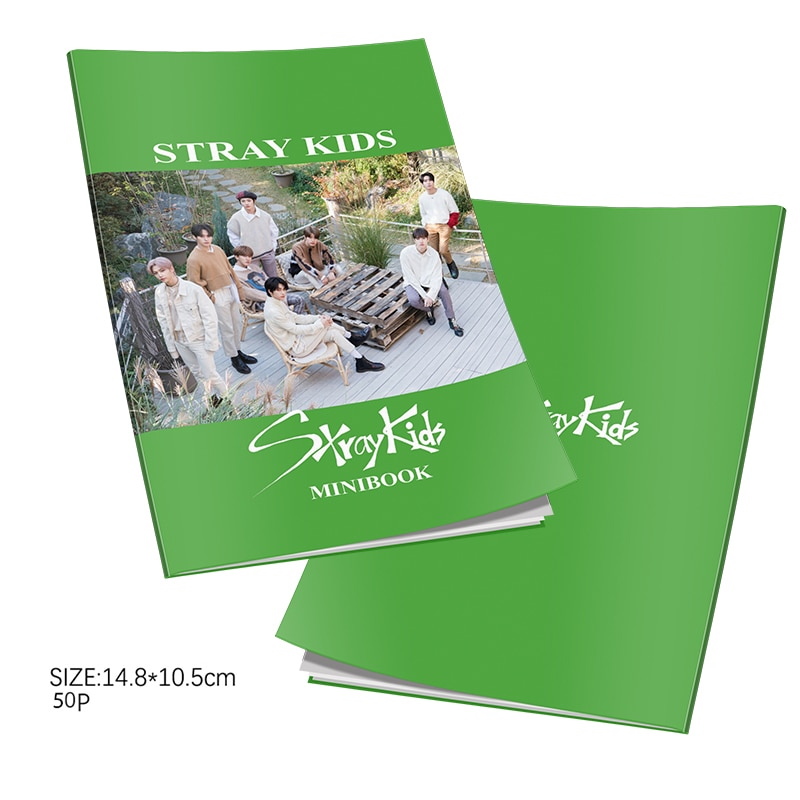 Kpop Stray Kids 5th Mini Album  Mini Photobook K-pop Stray Kids Photo Album Mini Book Photo Card Fans Collection