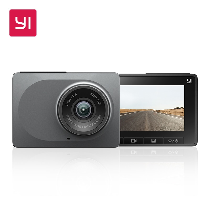 "YI Smart Dash Camera 2.7"" Screen Full HD 1080P 165 degree Wide-Angle Car DVR Vehicle Dash Cam with G-Sensor Night Vision"