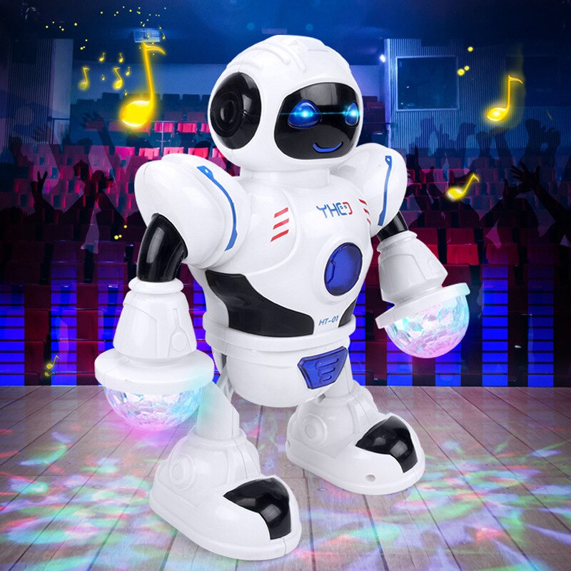 RC Robot Toy Singing Dancing Talking Smart Robot For Kids Educational Toy For Children Electric Robo