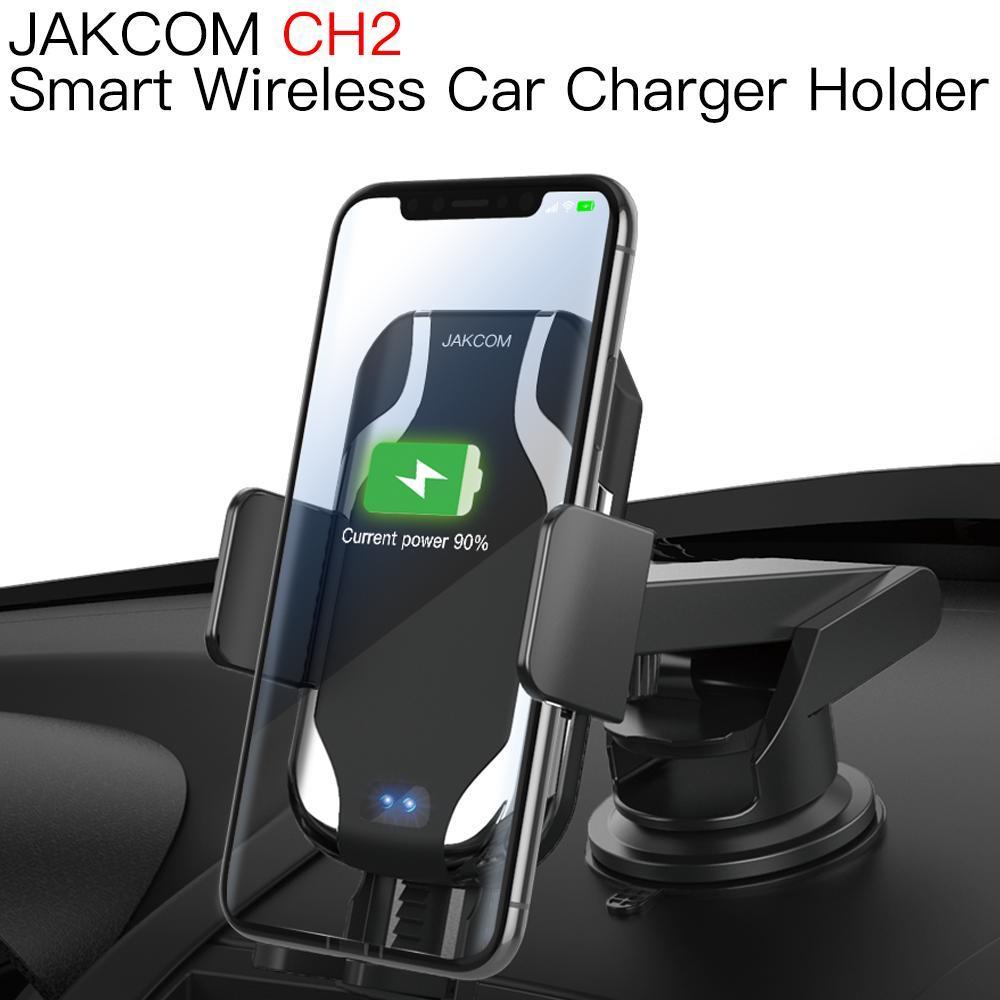 JAKCOM-cargador de coche inalámbrico inteligente CH2, soporte de montaje bonito que el...