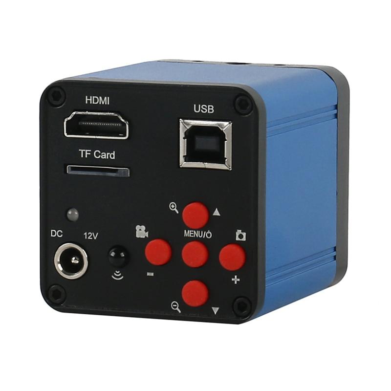 FHD 51MP 1080P USB HDMI الصناعية الرقمية الالكترونية كاميرا فيديو مجهر C-Mount TF بطاقة تخزين صورة مسجل فيديو