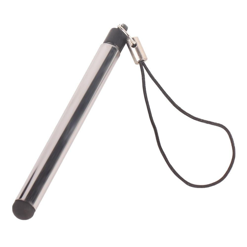 Lápiz óptico capacitivo Universal retráctil de Lápiz de pantalla táctil para teléfono inteligente, tableta para iPad, punta redonda fina