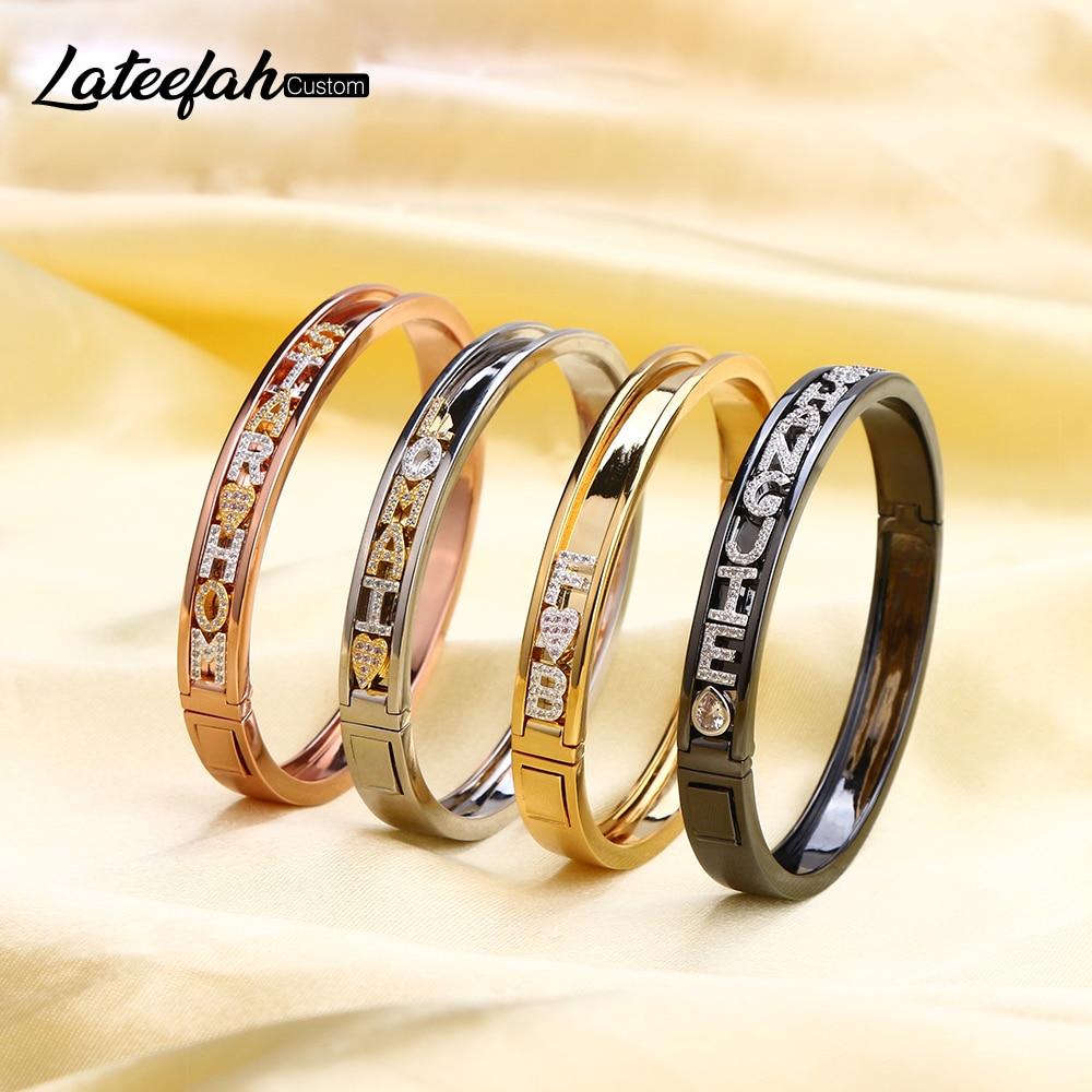 Lateefah-سوار سحر للأطفال ، مجوهرات شخصية منزلق ، أرقام رومانية ، للأطفال
