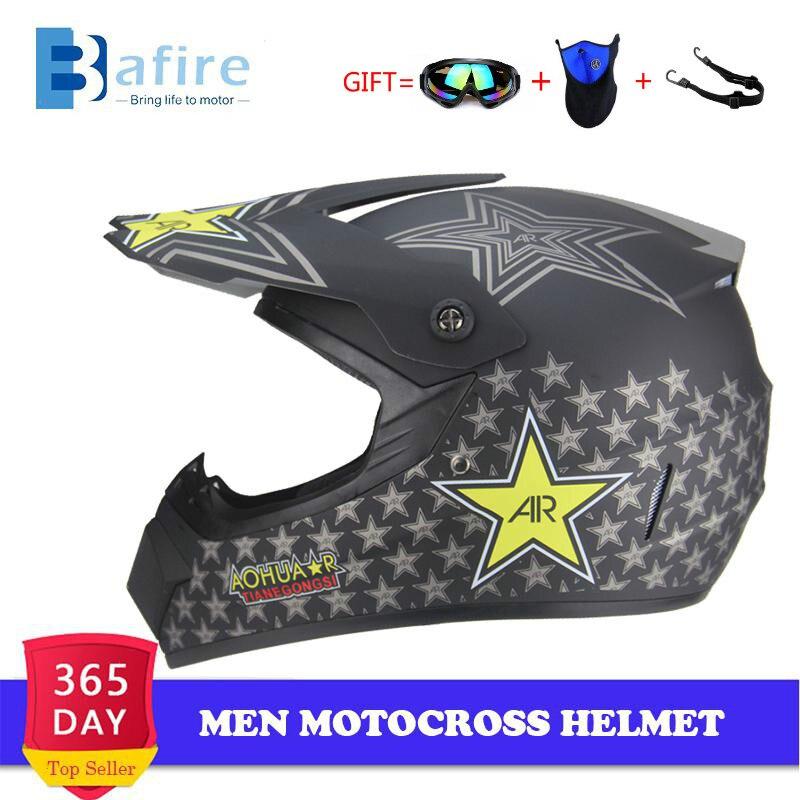 Casco de protección integral masculino para motocross, casco profesional para moto de...