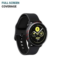 3PC Ultratipis HD Film Clear Full Screen Protector untuk Samsung Galaxy Watch Active 2 40Mm 44Mm Screen Protection Film  No Watch