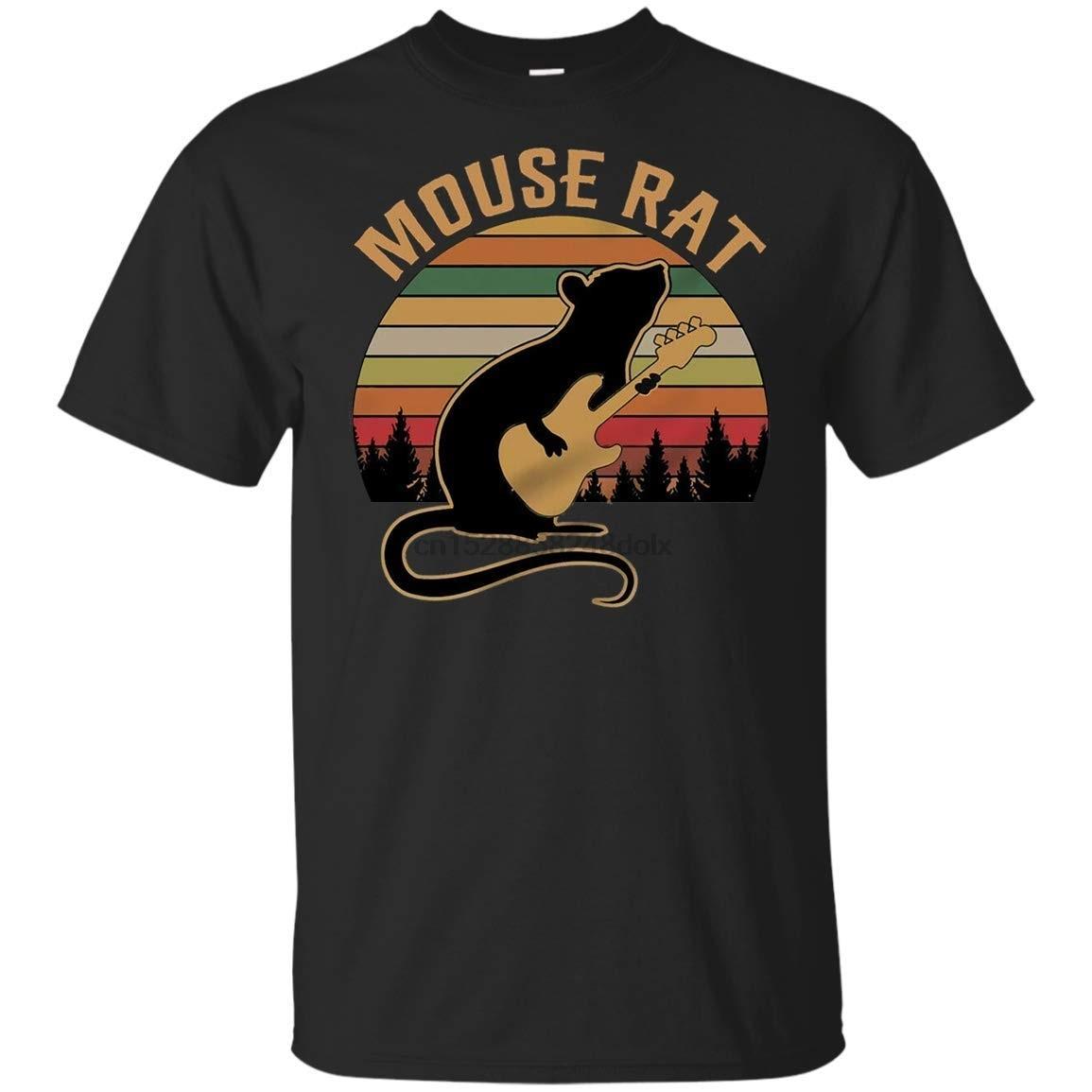 Мужская футболка Dwyer Parks and Mouse Rat Andy в винтажном ретро стиле