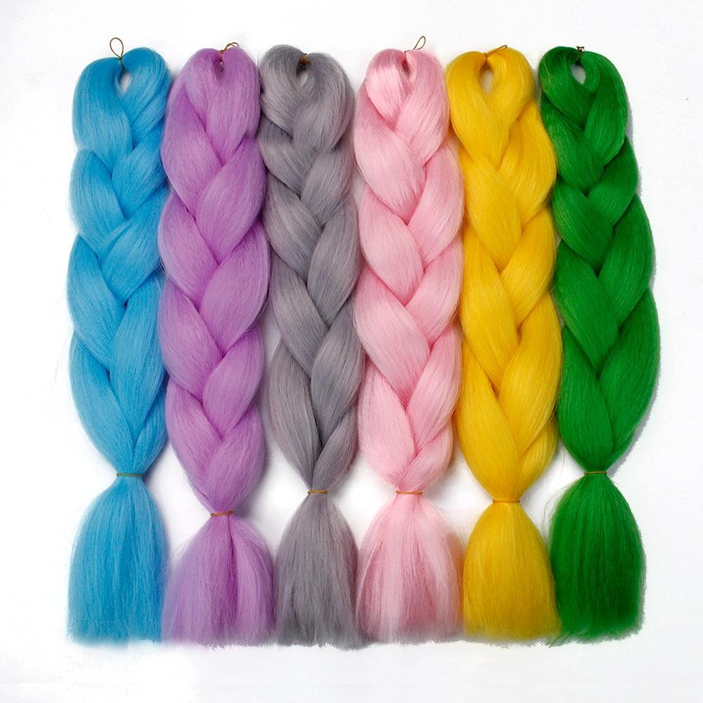 bulk buys bi635 48 butterfly ruffle accent hair twister large braiding hair extensions synthetic hair 100g/Pack 24 inches jumbo braid box braid hair for Daily wear Bulk