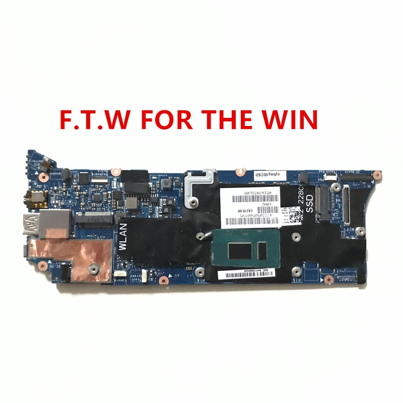 Placa base para DELL XPS 13 9360 placa base CAZ70 cpu I7-8550U 16GB LA-F051P 100% totalmente