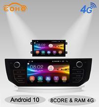 Android 10.0 8-Core Radio Android multimédia autoradio pour Roewe 550 & 2011-2015 MG 6 2008-2013