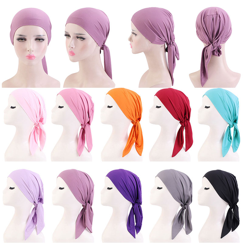 2021 New Pirate Hat Elastic Adjustable Cancer Chemo Cap Men Women Outdoor Sport Bandana Turban Breathable Cycling Headscarf
